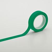 クリーンルーム用ラインテープ 緑 サイズ:25mm幅 (259032)