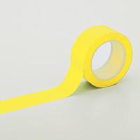クリーンルーム用ラインテープ 黄 サイズ:50mm幅 (259043)