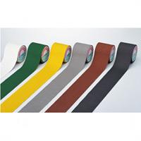 すべり止めテープ 100mm幅×5m カラー:黄 (260163)