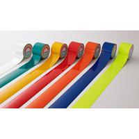 反射テープ 50mm幅×10m カラー:反射青 (265016)