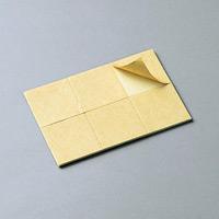 両面シートテープ 30mm角×2mm 6枚1組 (268010)
