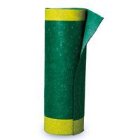 オイルガードロール 歩行者安全通行帯の通路用マット サイズ:巾1000×20m (294105)