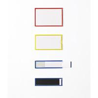 イージーケース(ハードマグネットタイプ) 10枚1組 25×90×3mm(本体) 枠カラー:黄 (305131)