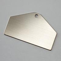 札 10枚1組 材質:ステンレス (306013)