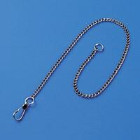 鎖 鉄クロームメッキ 10本1組 サイズ:3mm幅×300mm (308020)