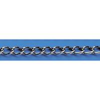 鎖 鉄クロームメッキ (1m単位) 線径:3mmφ (308050)