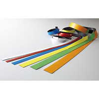 マグネットカラーテープ オレンジ サイズ:20mm幅×1m/1本 (312035)