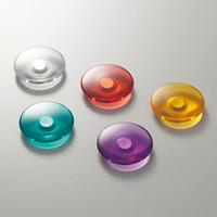 プッシュマグネット5個セット カラー:5色各1個 (316032)