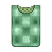 メッシュゼッケン 無地 600×440mm カラー:緑 (320011)