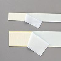 マジックテープ カラー・サイズ:白 ・ 25mm幅×1m (348251)