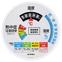 環境管理温・湿度計 TM-2486W(壁掛