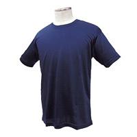 涼感ワークTシャツ ネイビー M