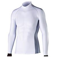 BT冷感 消臭長袖ハイネックシャツW M