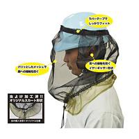 ヘルメット用防虫ネット