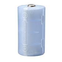 単3が3個で単1になる電池アダプタ(ブルー