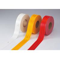 高輝度反射テープ 55mm幅×50m カラー:赤 (390011)