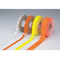 高輝度反射テープ 20mm幅×45m カラー:蛍光オレンジ (390021)