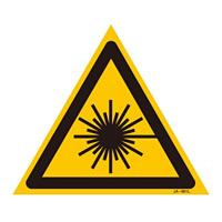 JISレーザー標識 三角 サイズ: (L) 400mm三角 (391601)