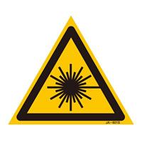 JISレーザー標識 三角 サイズ: (S) 100mm三角 (393601)