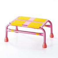 車昇降用踏み台 カラー:ピンク (396001)