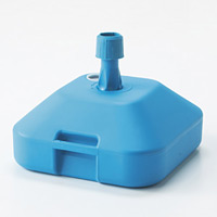 のぼり旗用ポール台 (注水型タイプ) カラー:ターコイズブルー (255119)
