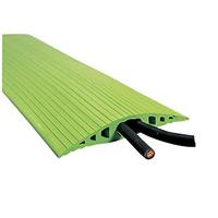 トラソフトプロテクター(ケーブル保護板) 130mm幅×20mm×5m カラー:グリーン (286054)
