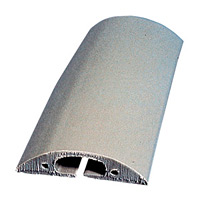 トラソフトプロテクター(ケーブル保護板) 40mm幅×10mm×5m カラー:グレー (286081)