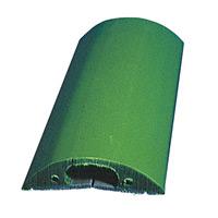 トラソフトプロテクター(ケーブル保護板) 40mm幅×10mm×5m カラー:モスグリーン (286082)