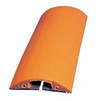トラソフトプロテクター(ケーブル保護板) 40mm幅×10mm×5m カラー:ブラウン (286084)