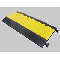 ケーブルガード(ケーブル保護プロテクター) ケーブル溝5列タイプ 仕様:本体 (286201)