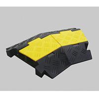 ケーブルガード(ケーブル保護プロテクター) ケーブル溝2列タイプ 仕様:コーナー部 (286204)