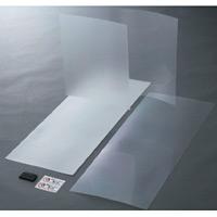 防犯フィルム 2枚1組 仕様:透明ガラス用 色:透明 (352111)