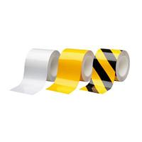 ビバスーパーラインテープ 100mm幅×20m カラー:白 (105211)
