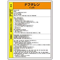 ナフタレン 特定化学物質標識 600×450 (815-46)