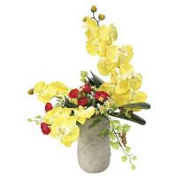 【2019年新商品】【送料無料】サンマリノ (造花) 高さ59cm 光触媒 (922A100)