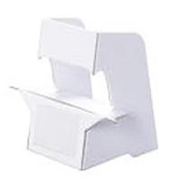 紙スタンド(紙製ボード立て) 名刺サイズ対応 10枚入 KSM-13