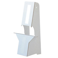 紙スタンド(紙製ボード立て) A3・B3パネル対応 10枚入 KSP-2