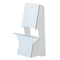紙スタンド(紙製ボード立て) A4・B5パネル対応 10枚入 KSP-4