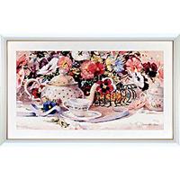 アートポスター 「パンジー タイム」 M・シマンデル作
