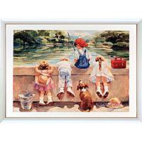 アートポスター 「リトル ラスカルズ」 C・ハートレイ作