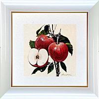 アートポスター 「アップル」 A・フィスク作