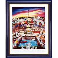アートポスター 「エイプリル イン パリ」 L・パーゴラ作