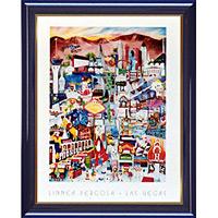 アートポスター 「ラスベガス」 L・パーゴラ作