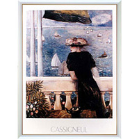 【絶版商品】アートポスター 「レガッタ」 カシニョール作※ご用意できません。