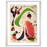 アートポスター 「ザ ナイト」 ミロ作