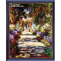 アートポスター 「ガーデン アット ジベルニー1」 モネ作