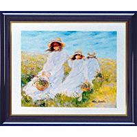 アートポスター 「そよ風の中の花かご」 リベイリー作