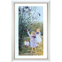 アートポスター 「ライラックの花束」 リベイリー作