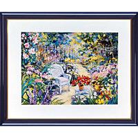 アートポスター 「春の日の恍惚」 J・ラモウレックス作