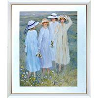 アートポスター 「夏の美しい婦人たち」 リベイリー作